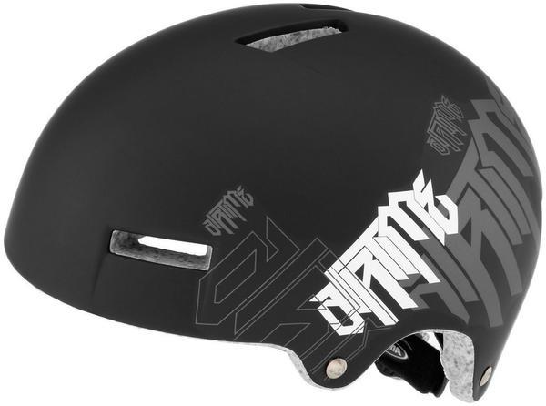 Alpina Airtime Helm black-white matt 57-61 cm BMX HelmeDirt HelmDirt HelmeBMXDirtFahrradhelmHelm