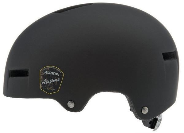 ALPINA Fahrradhelm Alpina Airtime Gr. (52-57cm) schwarz-matt