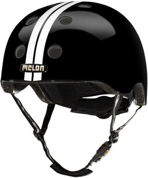 Melon Helm Straight White Black (XXS-S)