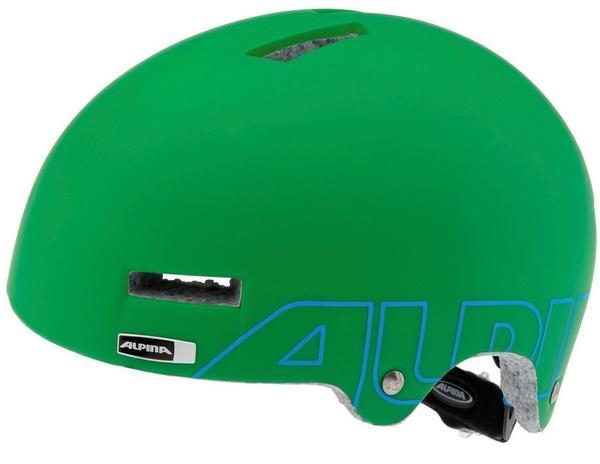 Alpina Airtime green-cyan matt 52-57 cm,
