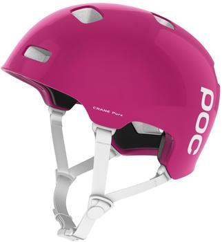 Poc Crane Pure Helmet rhodonite red/hydrogen white 59-62 cm Bike Helme