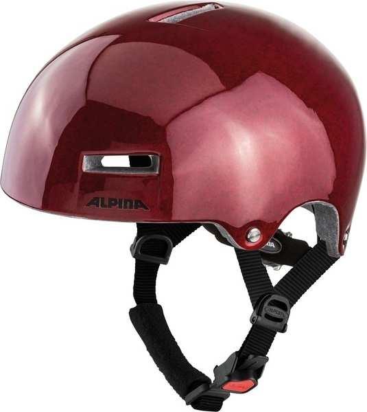 Alpina Fahrradhelm Airtime rot Gr.52-57cm