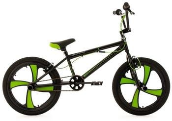 KS-CYCLING BMX Freestyle 20 Digit schwarz