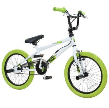 DETOX BMX, 18 Zoll, weiß/grün, »DeTox Freestyle«,