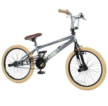 Detox BMX-Rad DeTox Freestyle grau 20 Zoll (50,80 cm)