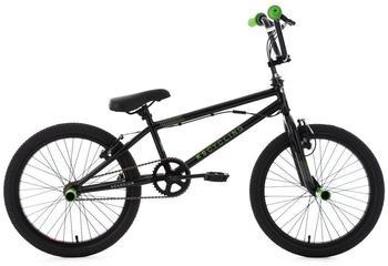 KS-Cycling BMX Freestyle »Scandium«, Fahrrad, schwarz-grün, 20 Zoll, Kinder   grün   28