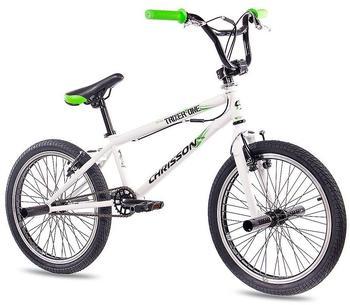 CHRISSON BMX BMX TRIXER ONE«, 20 Zoll, 1 Gang, V-Bremsen weiß