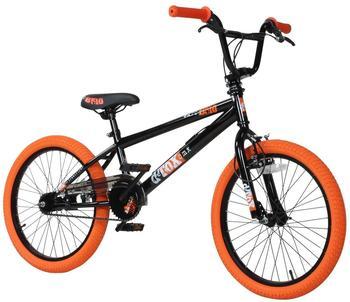 deTOX 20 BMX deTOX Freestyle Kinder Anfänger ab 130 cm, 7 J.