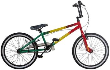 Rooster 20 Zoll BMX Rooster Jammin RASTA Park Freestyle Bike Fahrrad 169 Park Bike