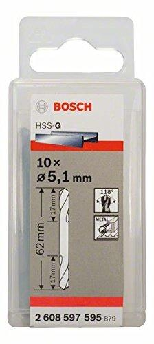 Bosch Doppelendbohrer 5,1x17x62mm (2608597595)