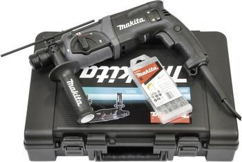 Makita HR2470BX40 Black Edition (im Koffer + 5tlg. Bohrer-Set)