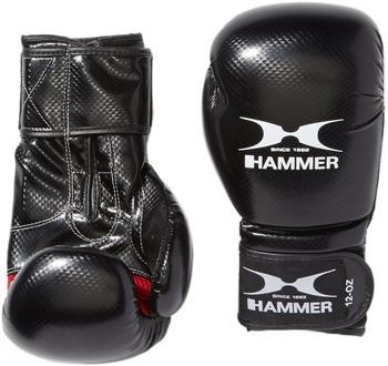 Hammer Boxhandschuhe X-Shock schwarz/rot 8 oz