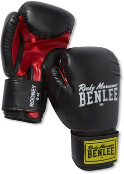 BENLEE Rocky Marciano Boxhandschuhe Rodney schwarz/rot 6 oz