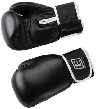 Intersport Box-Handsch.Leder Tn - schwarz/weiss, [Größe INT:16
