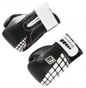 Energetics Boxhandschuhe, schwarz/weiß Gr. 12 oz