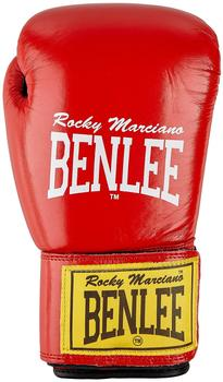 BENLEE Rocky Marciano Boxhandschuhe FIGHTER Red/Black,