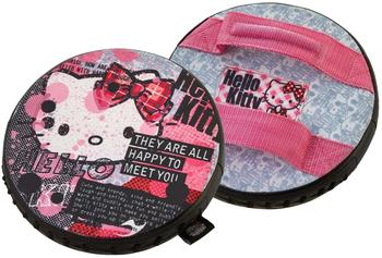 JU-SPORTS Kinder Rundpratze, Hello Kitty Punk Chic rosa