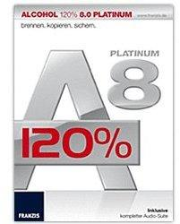 Franzis Alcohol 120% 8.0 Platinum (DE) (Win)