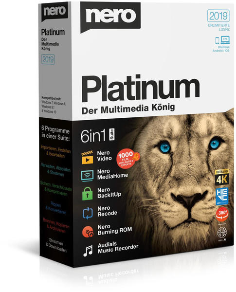 Nero 2019 Platinum (DE) (Box)