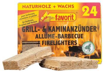 Favorit Grill- und Kaminanzünder 24 Stück