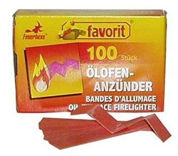 Favorit Ölofen-Anzünder 100 Stk.