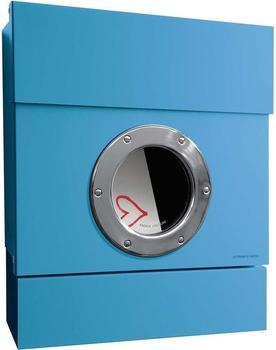 Radius Letterman 2 mit Türklingel blau