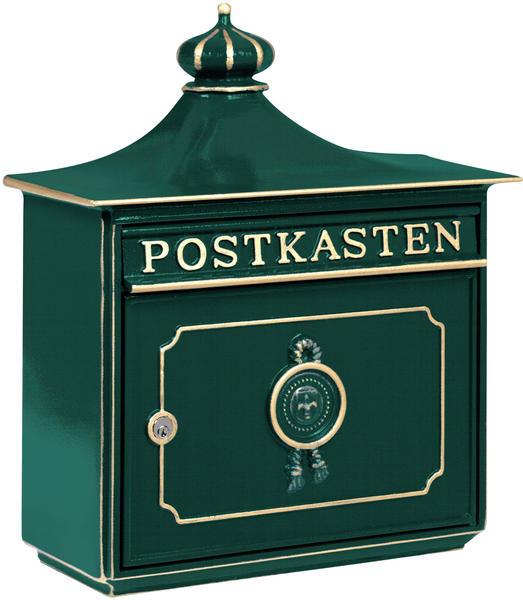 Burg Wächter Guss-Briefkasten Bordeaux grün (1895 GR)