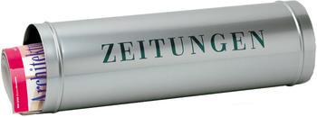 Burg Wächter Zeitungsbox silber (800 Si)
