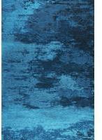 THEKO Kapstadt Cloud meliert türkis 190 cm x 290 cm