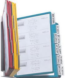 Durable Sichttafelwandhalter VARIO WALL 20 - 5512 Blau, Gelb, Grün, Rot DIN A4 Anzahl der mitgelief