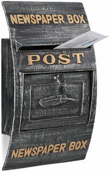 Relaxdays Briefkasten antik,