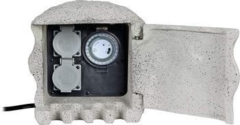 Heitronic 37503 Verteilerbox Grau