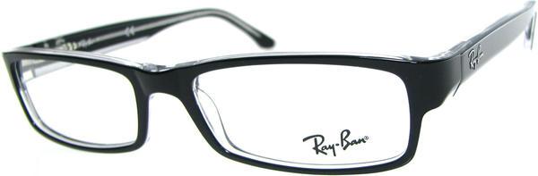 Ray-Ban RX5114 2034 (black on transparent)