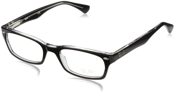 Ray-Ban RX5150 2034 (top black on transparent)