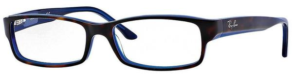 Ray-Ban RX5114 5064 (top havanna on blue)