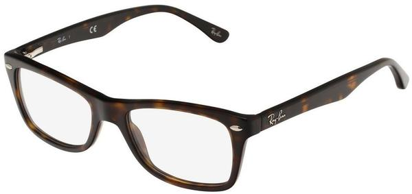 Ray-Ban RX5228 5057 (brown on beige texture)