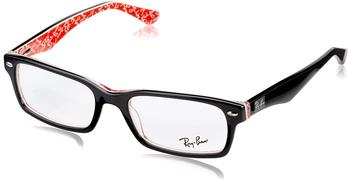 Ray-Ban RX5206 2479 (black-red texture)