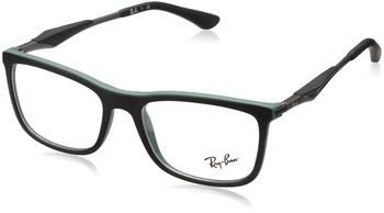 Ray-Ban RX7029 5197 (black top on green)