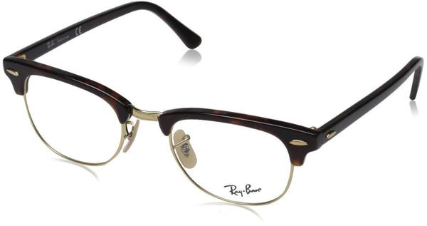Ray-Ban Clubmaster RX5154 2372 (red havana)
