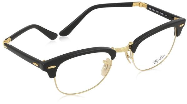 Ray-Ban Clubmaster Folding RB5334 2000 (black gold)