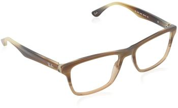 Ray-Ban RX5279 5542 (brown horn gradient transparent beige)