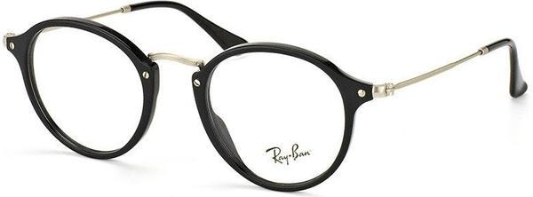 Ray-Ban RX2447V 2000 (black/silver)
