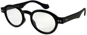 I NEED YOU Doktor Schwarz Panto-Kunststoffbrille Dioptrien +03.50)