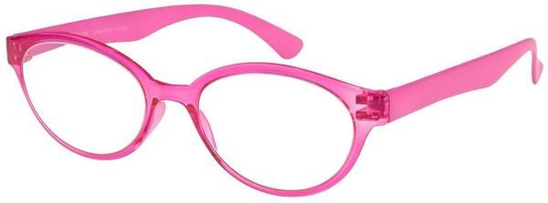 I NEED YOU Marlene Pink, Retro-Kunststoffbrille Dioptrien +03.00)