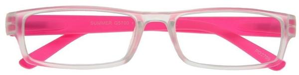 I NEED YOU Summer pink Kunststoffbrille Dioptrien, +03.00