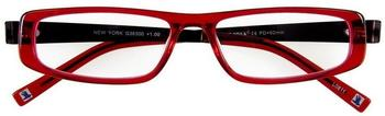 I Need You Lesebrille New York G36300 +1.00 DPT rot schwarz