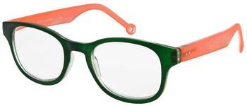 I NEED YOU Rio Grün-Orange, Kunststoffbrille Dioptrien +02.00)