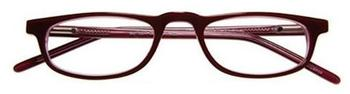 I NEED YOU Butler Rot-pflaume, Acetatbrille Dioptrien +01.00)