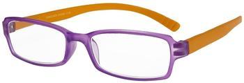 I NEED YOU Hangover1.00 Stück2.00 DPTLila-Orange Kunststoffbrille Dioptrien +02.00)
