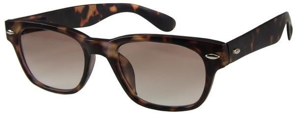 I NEED YOU - Woody Sun Kunststoff-Sonnenbrille havanna